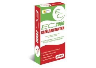 Клей для плитки ЕС 2000 25кг
