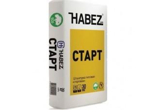 Штукатурка гипсовая HABEZ START