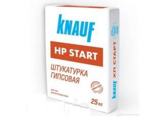 Штукатурка гипсовая Knauf HP-START